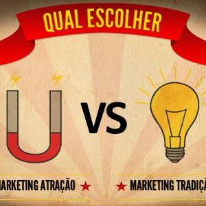 Marketing de atração VS. Marketing Tradicional